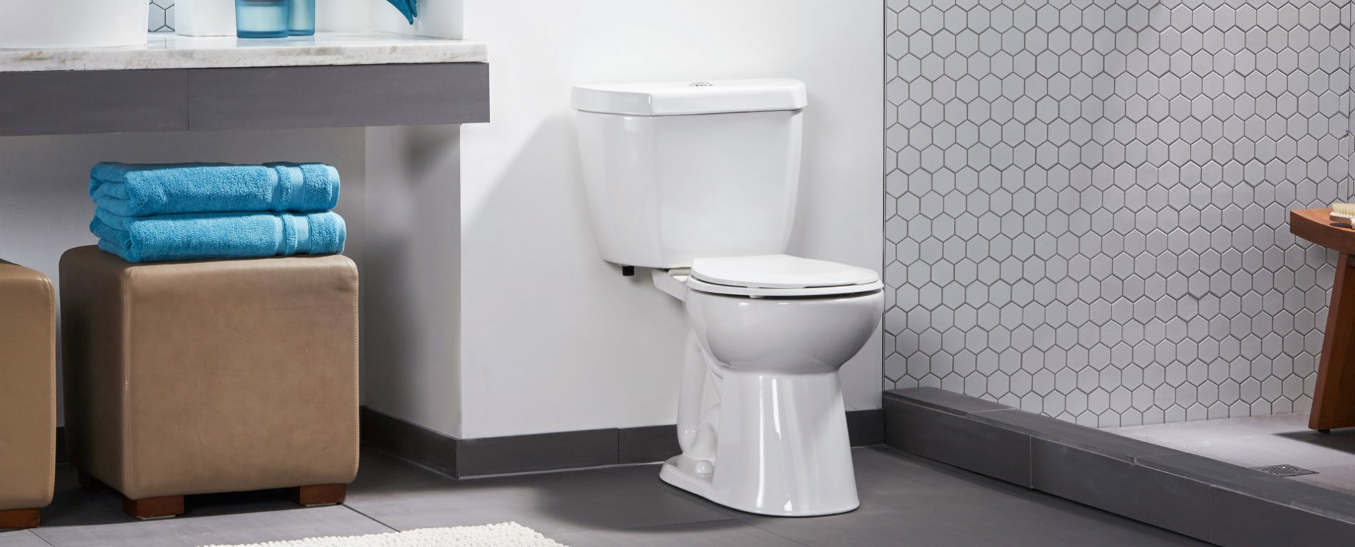 The Original Stealth® - 0.8 GPF Single Flush 10\'\' Round Toilet